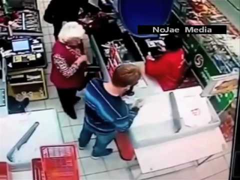 Teen Knocks Out His Grandma For Not Buying What He Wanted!
