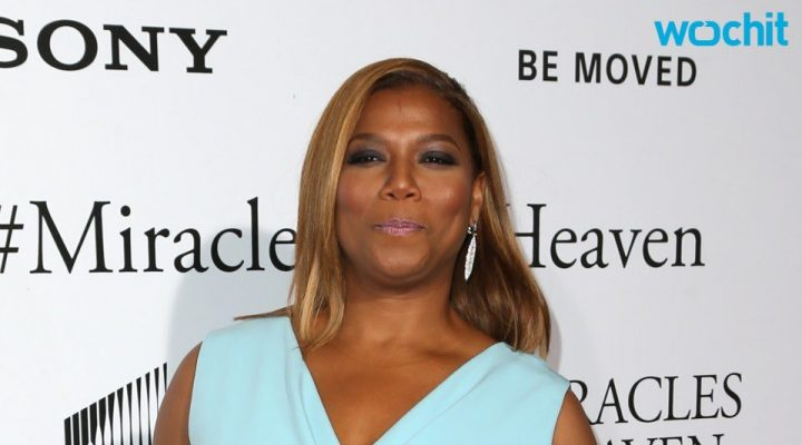 Car Owned by Queen Latifah Stolen at Gas Station