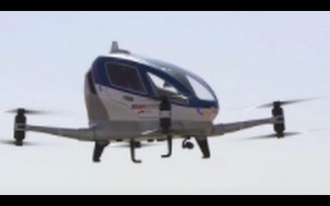 Dubai Plans To Roll Out Self-Flying Drone Taxi's!!!!!